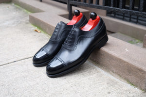 Palacio - MTO - Black Calf - SES Last - Double Leather Sole
