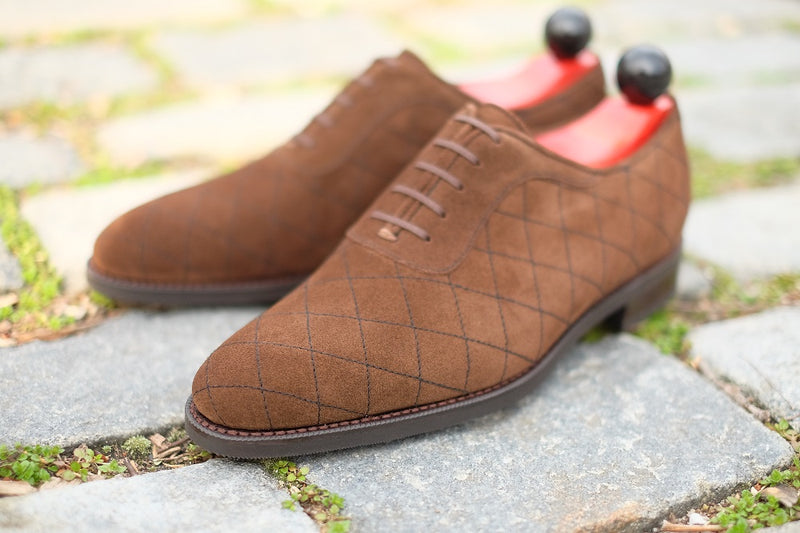 Spokane - Dark Brown Suede - CLEARANCE