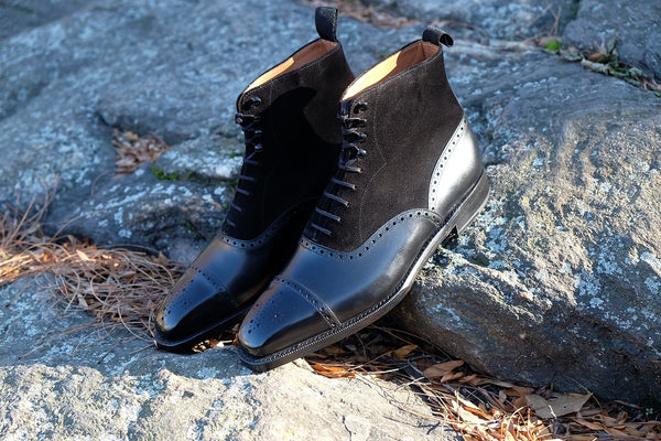 David - Black Calf / Black Suede