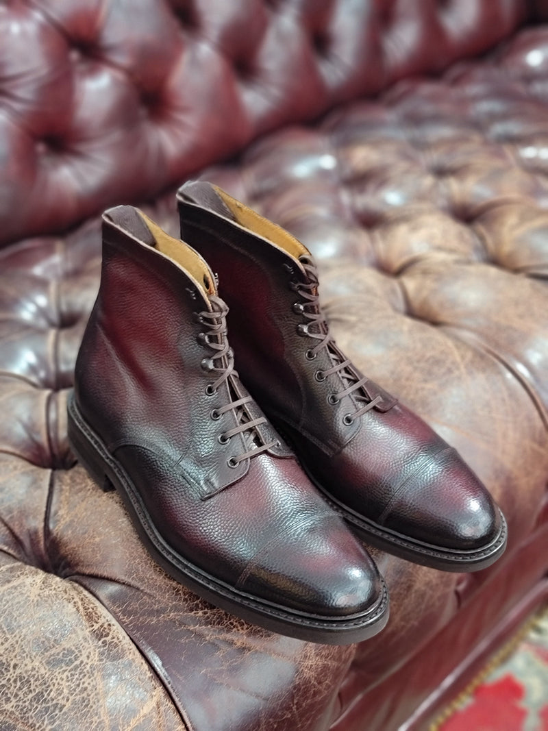 Columbia - Oxblood Grain Patina