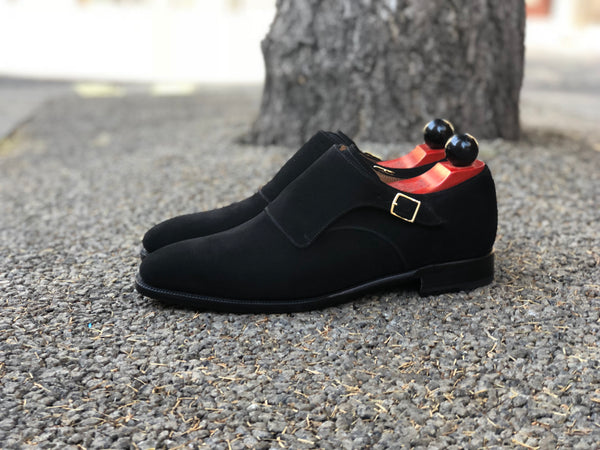 Factoria - MTO - Black Suede - LPB Last - Single Leather Sole