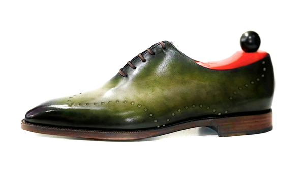Tony II - Fuji Patina - Forest Green