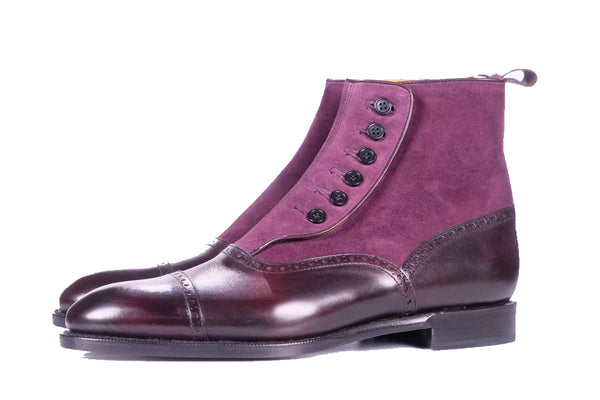 Puyallup - Plum Museum Calf / Regal Purple Suede - PRE SALE DISCONTINUED
