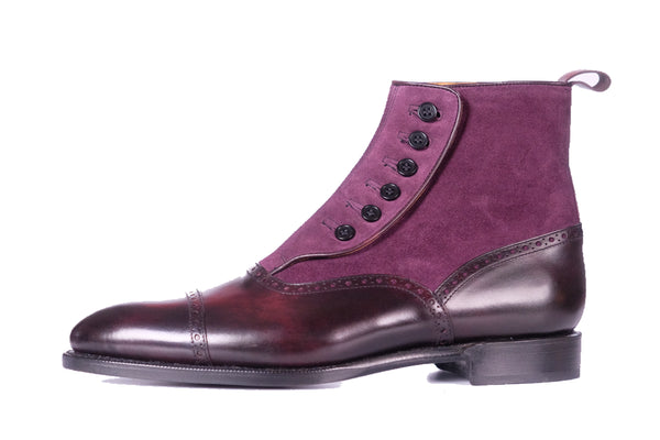 Puyallup - Plum Museum Calf / Regal Purple Suede