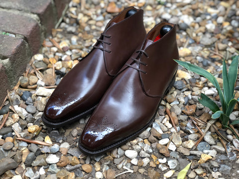 Georgetown GMTO - Chocolate Calf - LPB Last