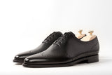 Tony - MTO - Black Calf - JKF Last - Single Leather Sole