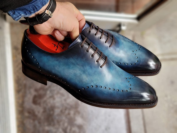 Tony II - Fuji Patina - Light Blue