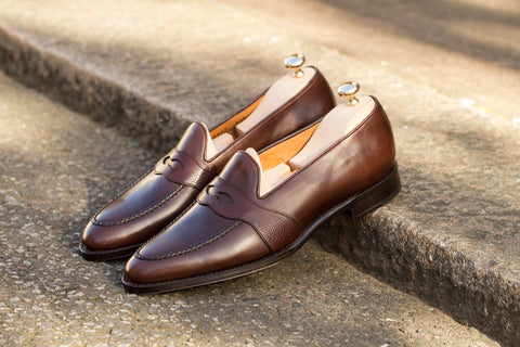 Madison GMTO - Antique Brown Calf / Mid Brown Soft Grain - TMG Last