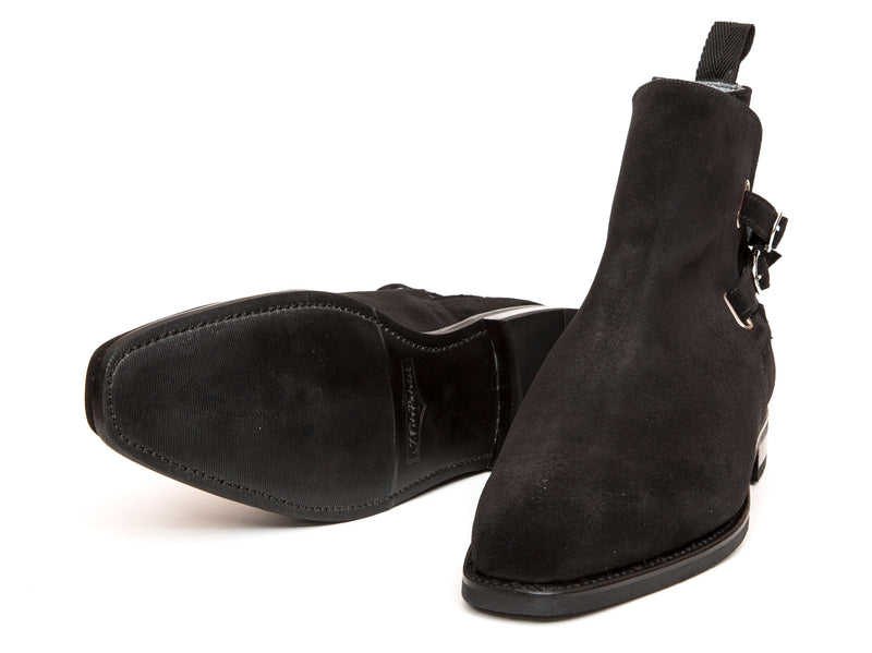 Genesee - MTO - Black Suede - MGF Last - Single Leather Sole