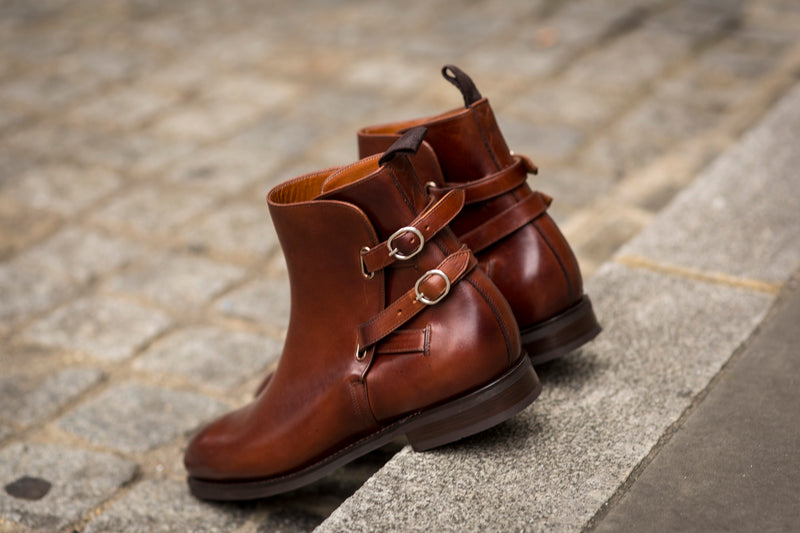 Genesee - MTO - Rugged Brown Calf - NGT Last - City Rubber Sole