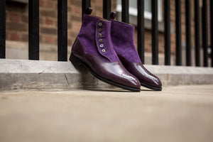 Westlake GMTO - Dark Purple Calf / Purple Suede - NGT Last