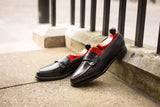 Hawthorne - MTO - Black Calf - TMG Last - Single Leather Sole