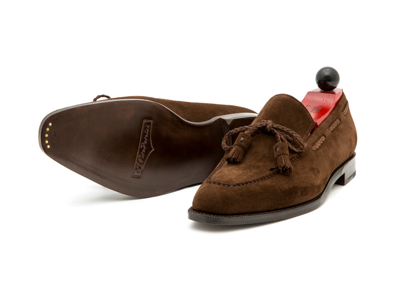 Issaquah - MTO - Dark Brown Suede - LPB Last - Single Leather Sole