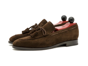 J.FitzPatrick Footwear - Issaquah - Dark Brown Suede