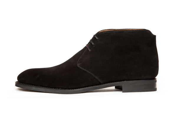 Ballard - MTO - Black Suede - NGT Last - Single Leather Sole