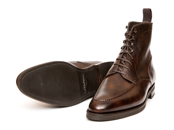 Bremerton - MTO - Dark Brown Museum Calf / Dark Brown Scotch Grain