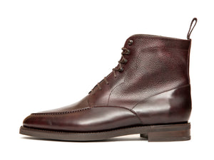 Bremerton - MTO - Plum Museum Calf / Plum Museum Grain - TMG Last - Double City Rubber Sole