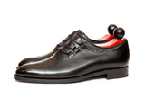 Everett - MTO - Black Calf - SEA Last - Double Leather Sole