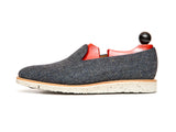 Laurelhurst II - MTO - Blue Tweed - TMG Last - White XLite Sole