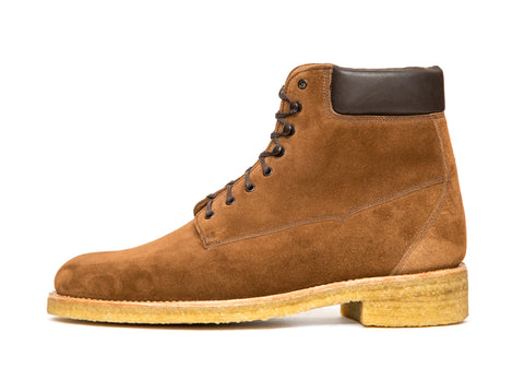 Whidbey - MTO - Snuff Suede - NJF Last - Crepe Rubber Sole