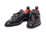 Issaquah - MTO - Navy Calf - LPB Last - Single Leather Sole