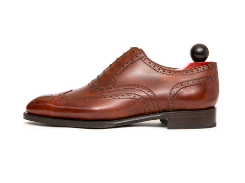 McClure - MTO - Gold Museum Calf - Single Leather Sole