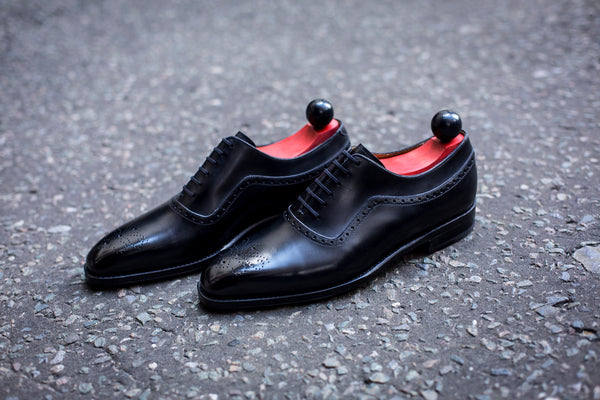 Roosevelt - MTO - Black Calf - LPB Last - Single Leather Sole