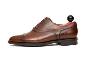 Magnolia - MTO - Soft Brown Grain - TMG Last - City Rubber Sole