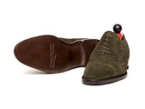Windermere - MTO - Dark Olive Suede - TMG Last - Single Leather Sole