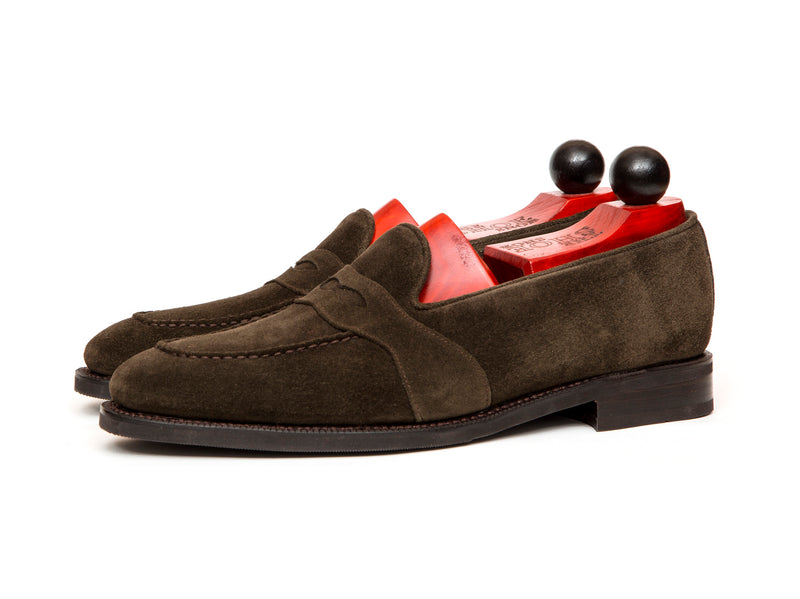 Madison - MTO - Bitter Chocolate Suede - LPB Last - City Rubber Sole
