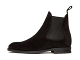 Alki - MTO - Black Suede - NGT Last - City Rubber Sole