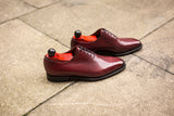 Skyway - MTO - Burgundy Calf - LPB Last - Single Leather Sole