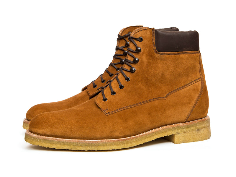 Whidbey - MTO - Camel Suede - NJF Last - Crepe Rubber Sole