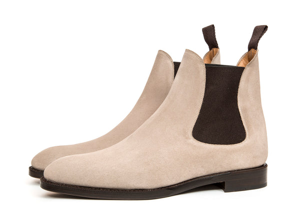 Alki - MTO - Pearl Suede - NGT Last - Double Leather Sole