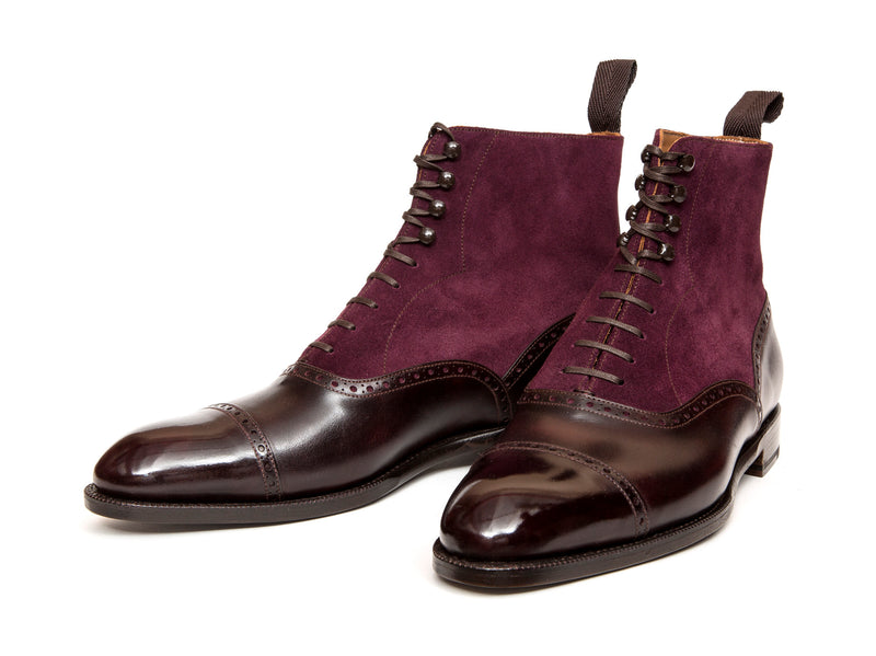Seaview - MTO - Plum Museum Calf / Regal Purple Suede - NGT Last - Single Leather Sole