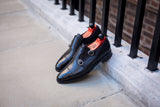 Kent - MTO - Black Calf - TMG Last - Single Leather Sole
