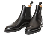 J.FitzPatrick Footwear - Alki - Black Calf- NGT Last- Double Leather Sole
