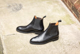 Alki - MTO - Black Calf - NGT Last - Double City Rubber Sole