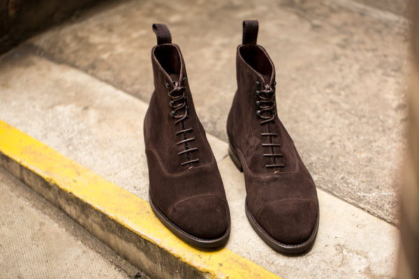 Ashworth - MTO - Bitter Chocolate Suede