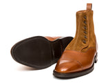 Blue Ridge - MTO - Tan Soft Grain / Snuff Suede - TMG Last - City Rubber Sole