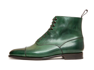 Ashworth - MTO - Forest Green Calf - TMG Last - Single Leather Sole