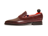 Marcos - MTO - Burgundy Calf / Burgundy Suede - LPB Last - Single Leather Sole