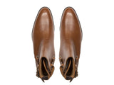 J.FitzPatrick Footwear - Genesee - Tan Soft Grain - Country Rubber Sole - NGT Last