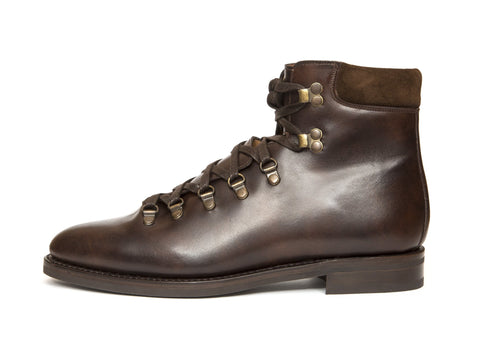 J.FitzPatrick Footwear - Snoqualmie - Dark Brown Museum Calf - City Rubber Sole - TMG Last