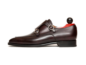 Montlake - MTO - Plum Museum Calf - LPB Last - Single Leather Sole