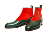 Westlake - MTO - Forest Calf / Red Suede - NGT Last - Single Leather Sole