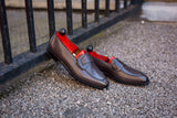 Hawthorne - MTO - Grey Calf - LPB Last - Single Leather Sole