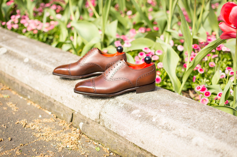 Windermere - MTO - Caramel Calf - MGF Last - Single Leather Sole