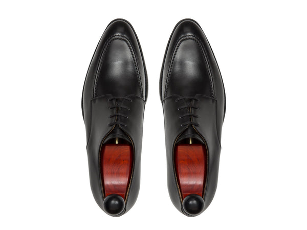 J.FitzPatrick Footwear - Lynwood - Black Calf - SEA Last