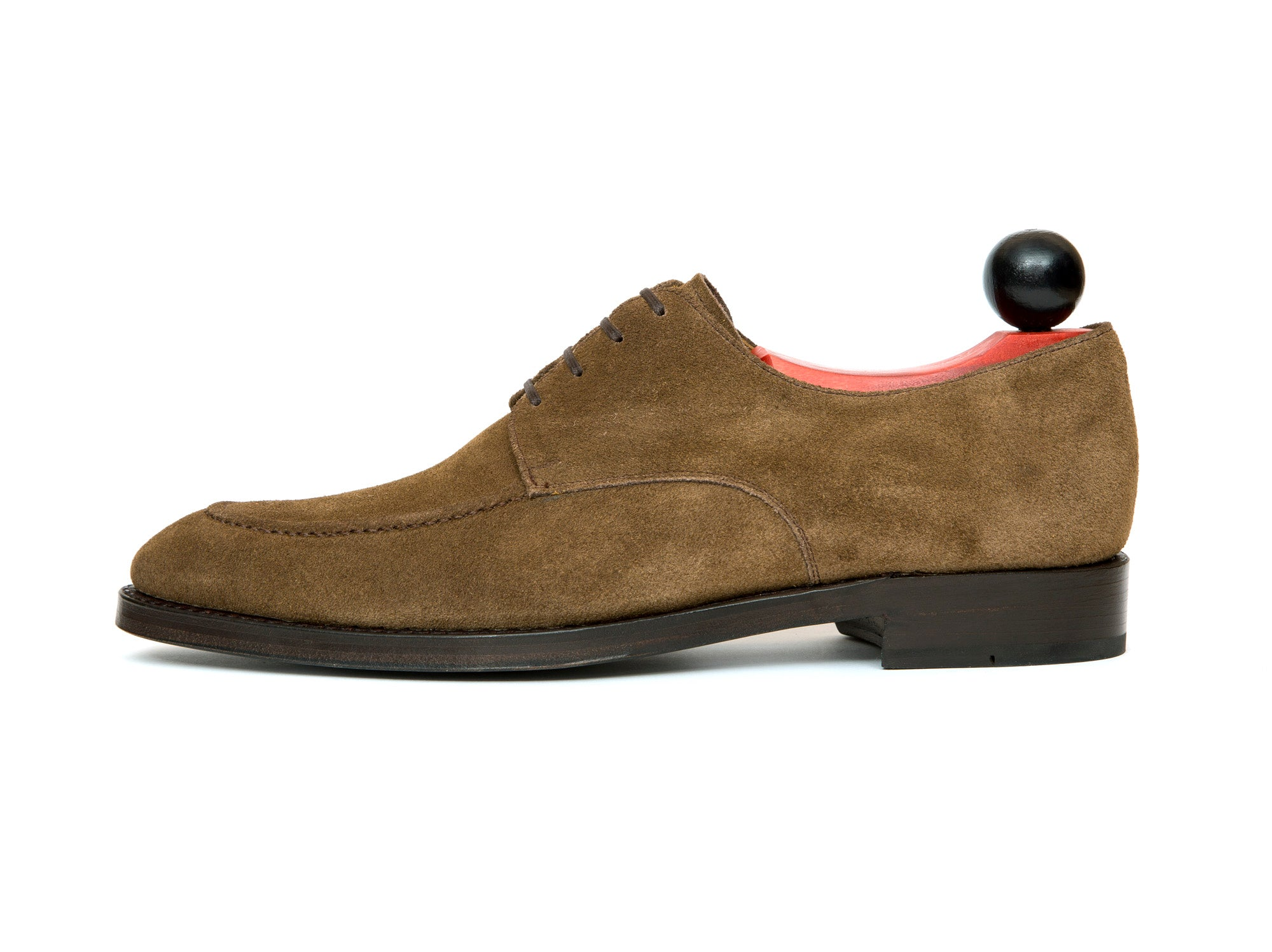 Lynwood - MTO - Taupe Suede - SEA Last - Double Leather Sole